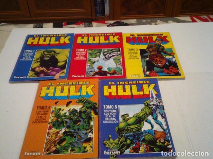 Cómics: HULK - VOLUMEN II + III + IV - FORUM - COMPLETOS - MUY BUEN ESTADO - TOMOS RETAPADOS - GORBAUD - Foto 2 - 166666426