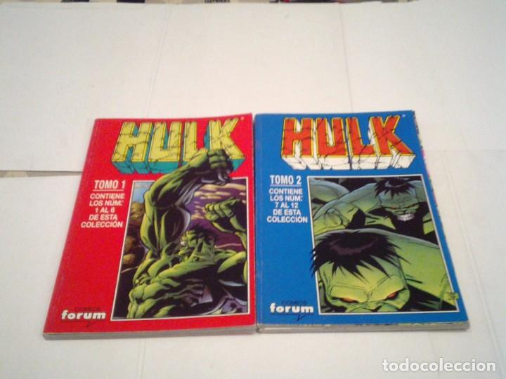 Cómics: HULK - VOLUMEN II + III + IV - FORUM - COMPLETOS - MUY BUEN ESTADO - TOMOS RETAPADOS - GORBAUD - Foto 9 - 166666426
