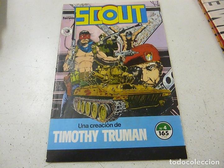 SCOUT -NUMERO 4 - FORUM -N (Tebeos y Comics - Forum - Otros Forum)