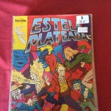 Fumetti: FORUM ESTELA PLATEADA NUMERO 8 BUEN ESTADO. Lote 166855959