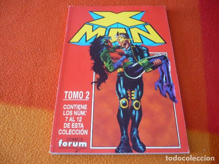 X MAN VOL. 2 NºS 7 AL 12 RETAPADO 2 ( OSTRANDER KAVANAGH ) ¡BUEN ESTADO! FORUM MARVEL (Tebeos y Comics - Forum - Retapados)