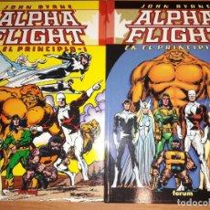 Cómics: PACK ALPHA FLIGHT: EN EL PRINCIPIO 1-2. POR JOHN BYRNE. COMICS FORUM: PLANETA DE AGOSTINI. Lote 166928504