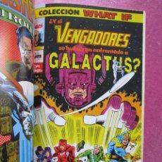 Cómics: WHAT IF 46 47 48 49 50 CON POSTER DE GALACTUS VENGADORES TOMO FORUM. Lote 166938564