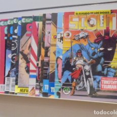 Cómics: SCOUT EL ELEGIDO DE LOS DIOSES COMPLETA 19 NUMEROS - ECLIPSE COMICS FORUM -. Lote 167047776