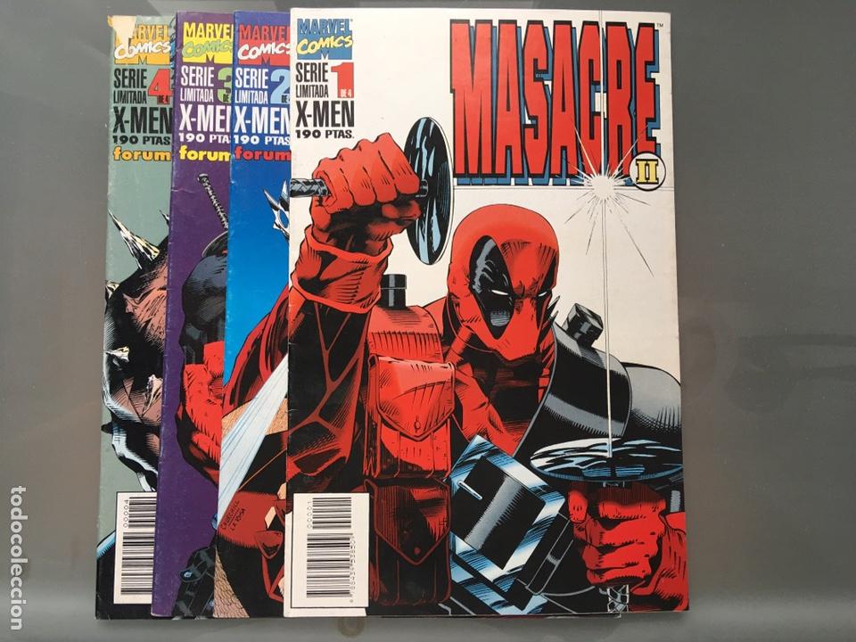 X-MEN MASACRE SERIE LIMITADA COMPLETA (Tebeos y Comics - Forum - X-Men)