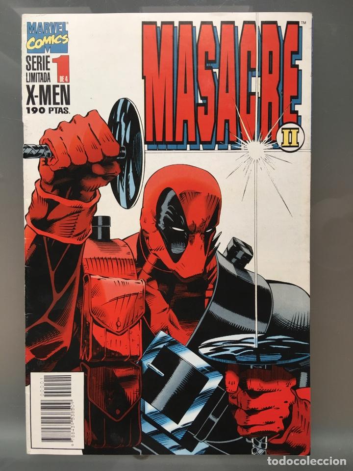 Cómics: X-MEN Masacre serie limitada Completa - Foto 2 - 167233108