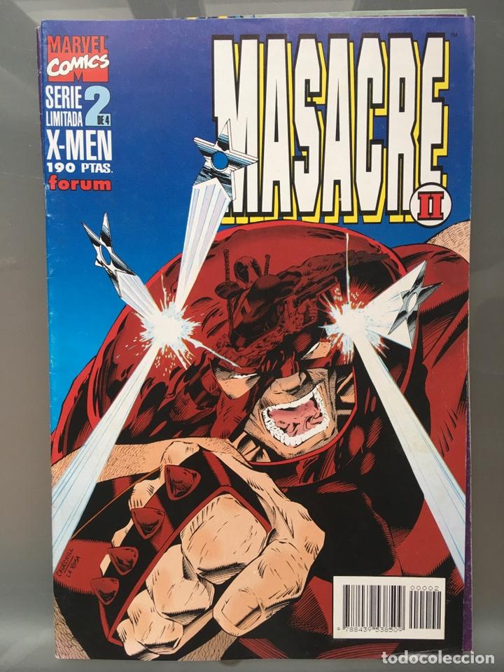 Cómics: X-MEN Masacre serie limitada Completa - Foto 3 - 167233108
