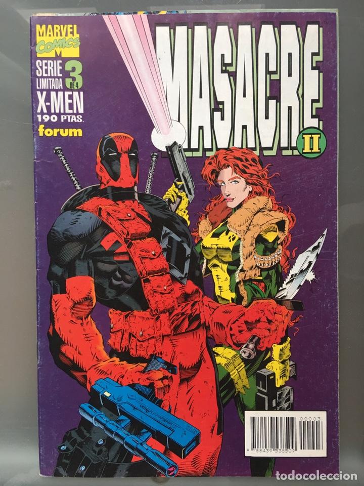 Cómics: X-MEN Masacre serie limitada Completa - Foto 4 - 167233108