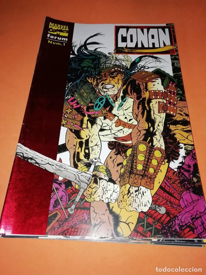 CONAN. LOTE DE LARRY HAMA. Nº 1,3,5,6,7,8,9,10 Y 11ULTIMO Nº. (Tebeos y Comics - Forum - Conan)