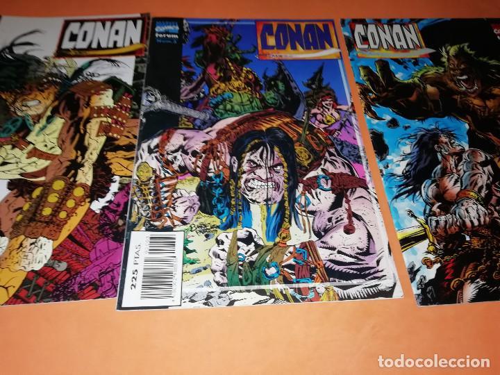 Cómics: CONAN. LOTE DE LARRY HAMA. Nº 1,3,5,6,7,8,9,10 Y 11ULTIMO Nº. - Foto 2 - 167278624