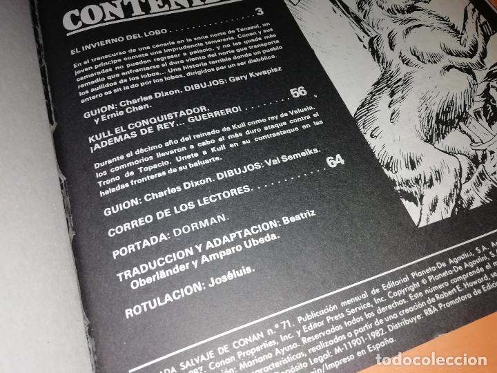 Cómics: LA ESPADA SALVAJE DE CONAN . V.1. 23 NUMEROS. TRES DE ELLOS EN UN RETAPADO. Y Nº 100 Y 171,ULTIMO. - Foto 4 - 167292752