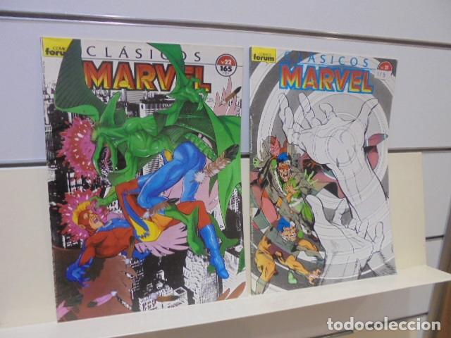 Cómics: CLASICOS MARVEL COMPLETA 41 Nº MAS 5 ESPECIALES (FALTA SOLO UN ESPECIAL FUERON 6) - FORUM - - Foto 14 - 167536108