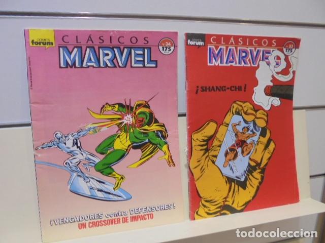 Cómics: CLASICOS MARVEL COMPLETA 41 Nº MAS 5 ESPECIALES (FALTA SOLO UN ESPECIAL FUERON 6) - FORUM - - Foto 20 - 167536108