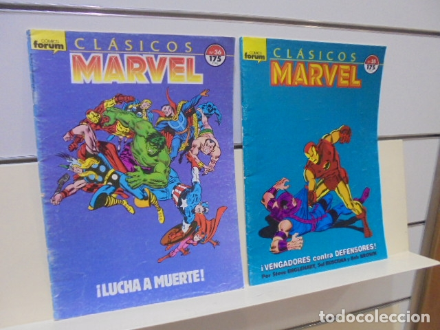 Cómics: CLASICOS MARVEL COMPLETA 41 Nº MAS 5 ESPECIALES (FALTA SOLO UN ESPECIAL FUERON 6) - FORUM - - Foto 21 - 167536108