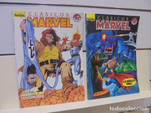 Cómics: CLASICOS MARVEL COMPLETA 41 Nº MAS 5 ESPECIALES (FALTA SOLO UN ESPECIAL FUERON 6) - FORUM - - Foto 22 - 167536108