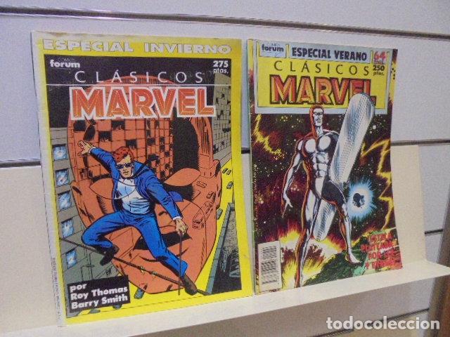 Cómics: CLASICOS MARVEL COMPLETA 41 Nº MAS 5 ESPECIALES (FALTA SOLO UN ESPECIAL FUERON 6) - FORUM - - Foto 25 - 167536108