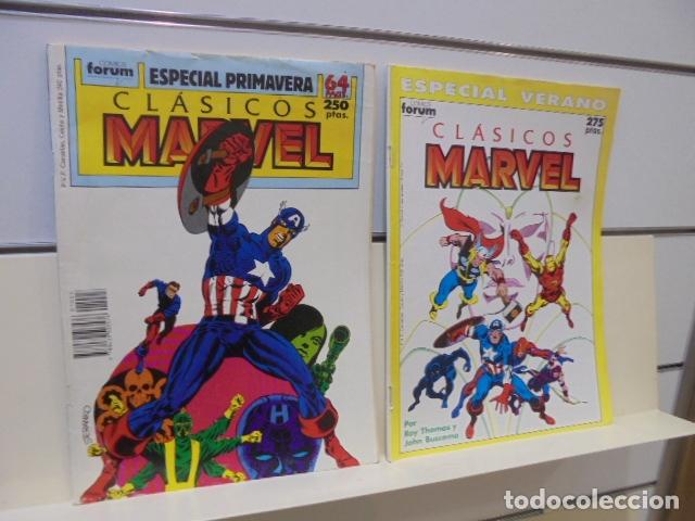 Cómics: CLASICOS MARVEL COMPLETA 41 Nº MAS 5 ESPECIALES (FALTA SOLO UN ESPECIAL FUERON 6) - FORUM - - Foto 26 - 167536108