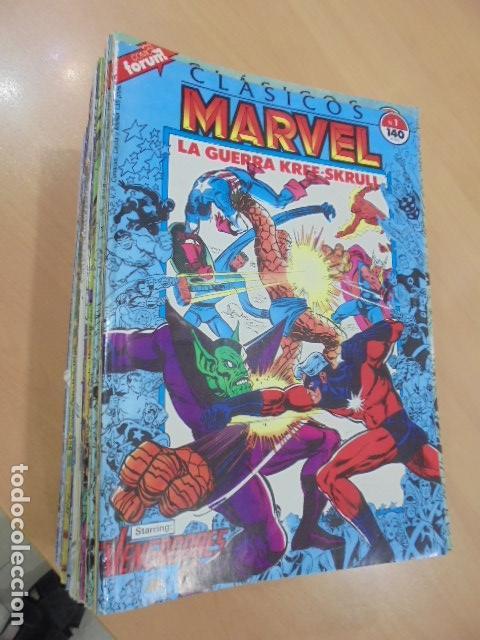 CLASICOS MARVEL COMPLETA 41 Nº MAS 5 ESPECIALES (FALTA SOLO UN ESPECIAL FUERON 6) - FORUM - (Tebeos y Comics - Forum - Otros Forum)