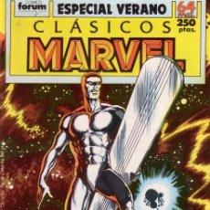 Cómics: CLÁSICOS MARVEL ESPECIAL VERANO 1989 - FORUM. ESTELA PLATEADA. BYRNE.. Lote 167579144