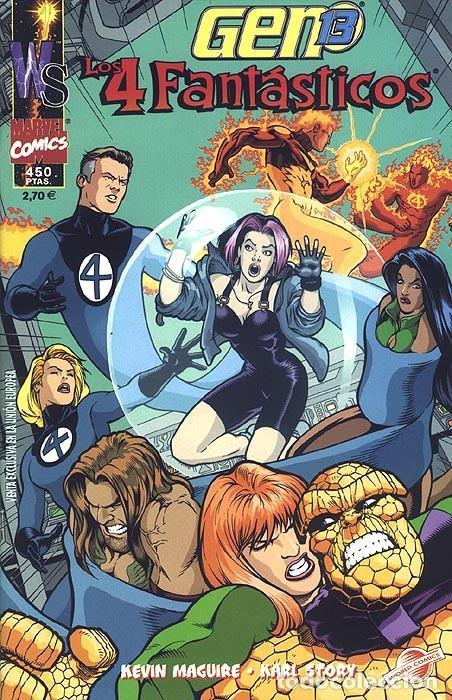 GEN 13 / LOS 4 FANTÁSTICOS - ESPECIAL FORUM. (Tebeos y Comics - Forum - 4 Fantásticos)