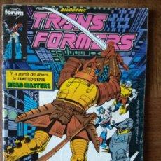 Cómics: TRANSFORMERS Nº 56 - MARVEL COMICS FORUM - 64 PGNAS.. Lote 167593664