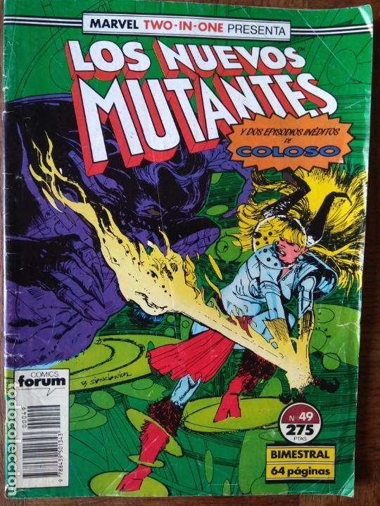 LOS NUEVOS MUTANTES & COLOSO V.1 Nº 49 - FORUM MARVEL TWO-IN-ONE. (Tebeos y Comics - Forum - Nuevos Mutantes)