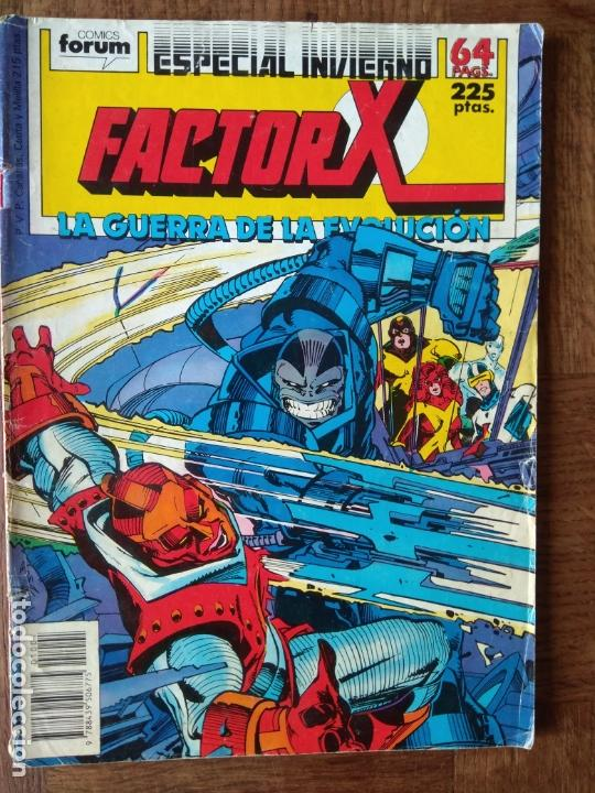 FACTOR-X ESPECIAL LA GUERRA DE LA EVOLUCION, ESPECIAL INVIERNO - 68 PGNAS - FORUM MARVEL COMICS - (Tebeos y Comics - Forum - Factor X)
