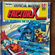 Comics: FACTOR-X ESPECIAL LA GUERRA DE LA EVOLUCION, ESPECIAL INVIERNO - 68 PGNAS - FORUM MARVEL COMICS - . Lote 167594876