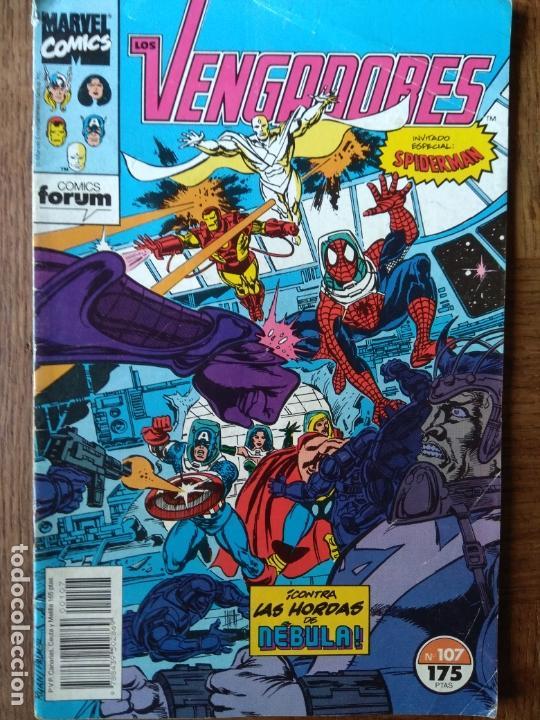 LOS VENGADORES V.1 Nº 107 - MARVEL COMICS FORUM (Tebeos y Comics - Forum - Vengadores)