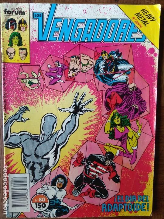 LOS VENGADORES V.1 Nº 80 - MARVEL COMICS FORUM (Tebeos y Comics - Forum - Vengadores)