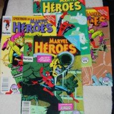 Cómics: SPIDERMAN: EL NIÑO QUE LLEVAS DENTRO : MARVEL HÉROES Nº 72,74,75 Y 77 .(MUY DIFICILES) . Lote 167663204
