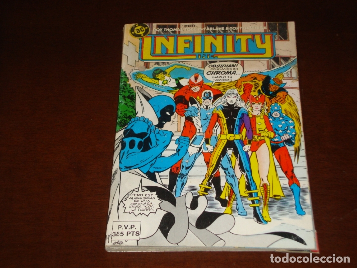 INFINITY INC DEL 7 AL 11 (Tebeos y Comics - Forum - Retapados)