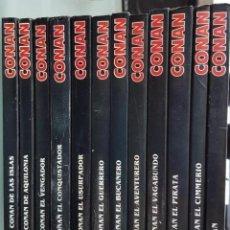 Cómics: LAS 12 NOVELAS DE CONAN EDITADAS POR FORUM EN 1983 - VER FOTOS Y DESCRIPCIÓN -. Lote 148155218