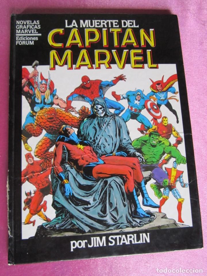 LA MUERTE DEL CAPITAN MARVEL TOMO 2 TAPA DURA FORUM. (Tebeos y Comics - Forum - Prestiges y Tomos)