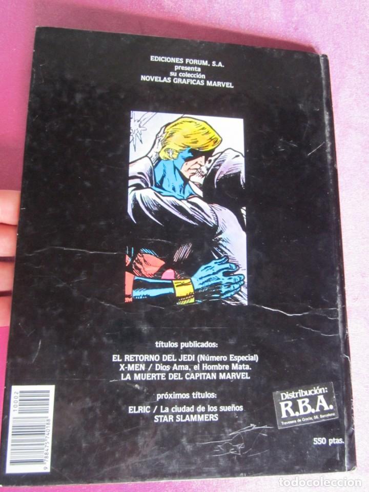 Cómics: LA MUERTE DEL CAPITAN MARVEL TOMO 2 TAPA DURA FORUM. - Foto 10 - 167869500