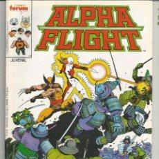 Cómics: ALPHA FLIGHT LA MASA EDITORIAL PLANETA-DEAGOSTINI CÓMICS FORUM Nº 33. Lote 167916884