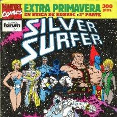 Comics: SILVER SURFER - PLANETA-DEAGOSTINI (FORUM) - EXTRA PRIMAVERA 1992. Lote 167936360