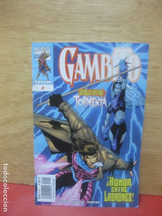 GAMBITO Nº 2. MARVEL COMICS FORUM 1999 (Tebeos y Comics - Forum - Otros Forum)