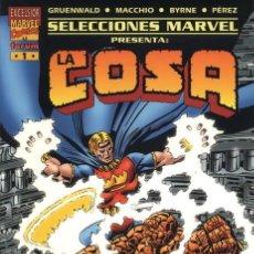 Cómics: SELECCIONES MARVEL Nº 1 - TOMO FORUM. LA COSA: EL PROYECTO PEGASO.. Lote 168046192