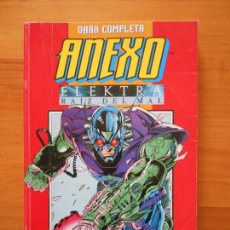 Comics: ANEXO + ELEKTRA RAIZ DEL MAL - COMPLETA - 8 NUMEROS - RETAPADO - FORUM (GE). Lote 168053284