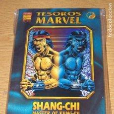Cómics: TESOROS MARVEL B/N SHANG-CHI MASTER OF KUNG-FU. Lote 168136000