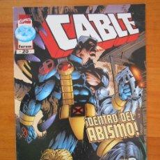 Fumetti: CABLE - VOLUMEN 2 - Nº 20 - MARVEL - FORUM (FF). Lote 168163388