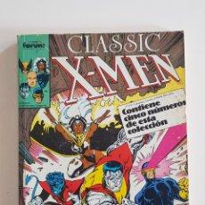 Cómics: MARVEL COMICS - CLASSIC X-MEN Nº 6 AL 10 RETAPADO FORUM PATRULLA X 1988. Lote 168171252