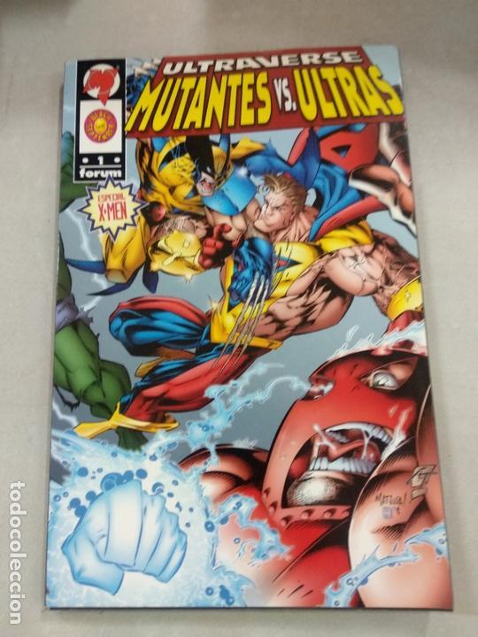 ULTRAVERSE: MUTANTES VS. ULTRAS - TOMO FORUM. (Tebeos y Comics - Forum - Otros Forum)