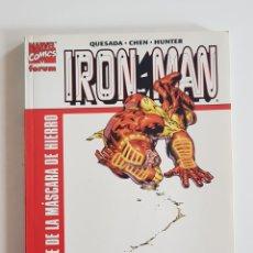 Cómics: MARVEL COMICS - IRON MAN EL HOMBRE DE LA MÁSCARA DE HIERRO FORUM 2001. Lote 168174380