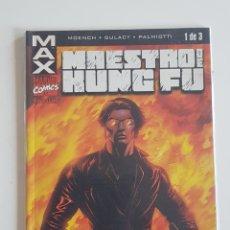 Cómics: MARVEL COMICS - LÍNEA MAX SHANG CHI MAESTRO DE KUNG FU Nº 1 FORUM 2003. Lote 168175408