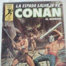 Cómics: LA ESPADA SALVAJE DE CONAN 35. Lote 168212472