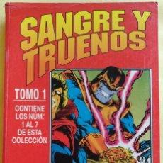 Cómics: SANGRE Y TRUENOS DE RON MARZ, BRUCE ZICK, ANDY SMITH, JIM STARLIN, KRIS RENKEWITZ, TOM GRINDBERG.... Lote 168281860