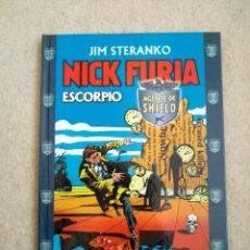 Cómics: NICK FURIA AGENTE DE SHIELD DE JIM STERANKO -ESCORPIO. Lote 168284660