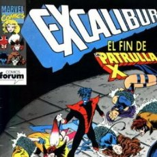 Comics - EXCALIBUR VOL. 1 Nº 58 - FORUM - 168303152